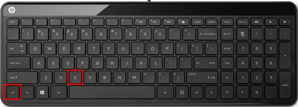 Копировать ссылку в ВК клавиатурное сочетание