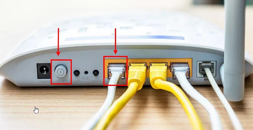 Перезапустите роутер и проверьте кабель